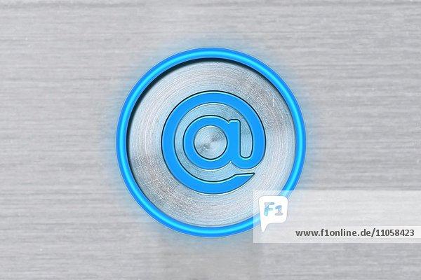 Blaues @ Symbol