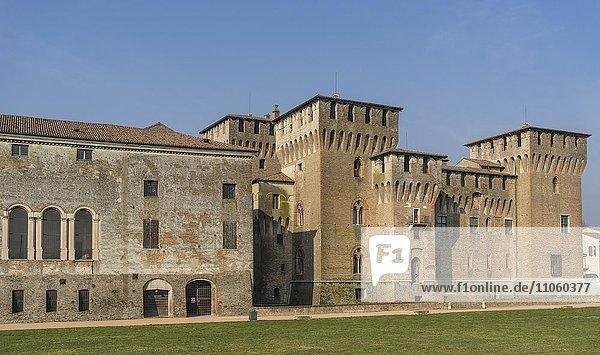 Burg  Mantua  Lombardei  Italien  Europa