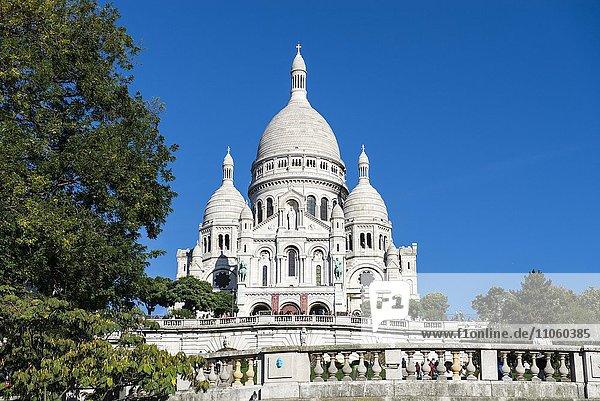 Sacré-C?ur de Montmartre  Paris  Frankreich  Europa