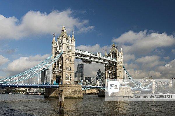 Tower Bridge  London  England  Großbritannien  Vereinigtes Königreich  Europa