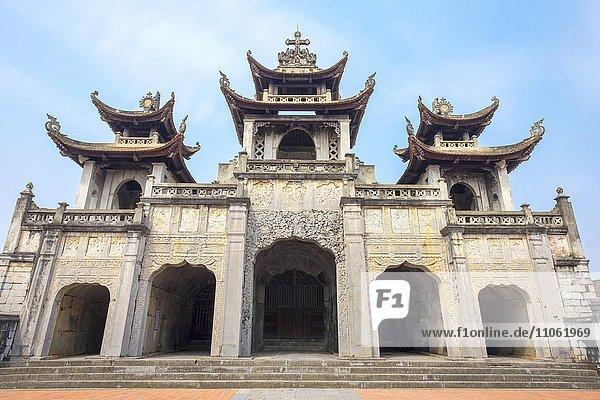Kirche Unserer Lieben Frau vom Rosenkranz  Phat Diem Kathedrale  Phat Diem  Provinz Ninh Binh  Vietnam  Asien