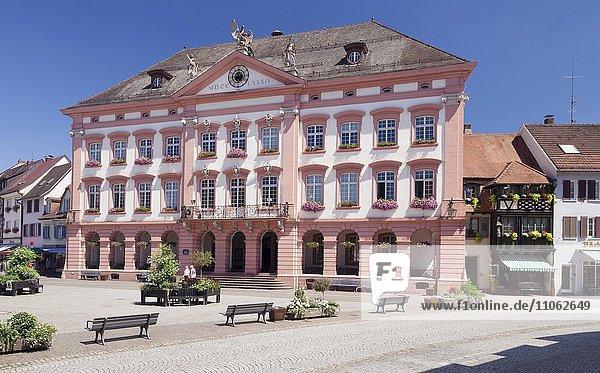 Rathaus  Gengenbach  Kinzigtal  Schwarzwald  Baden-Württemberg  Deutschland  Europa
