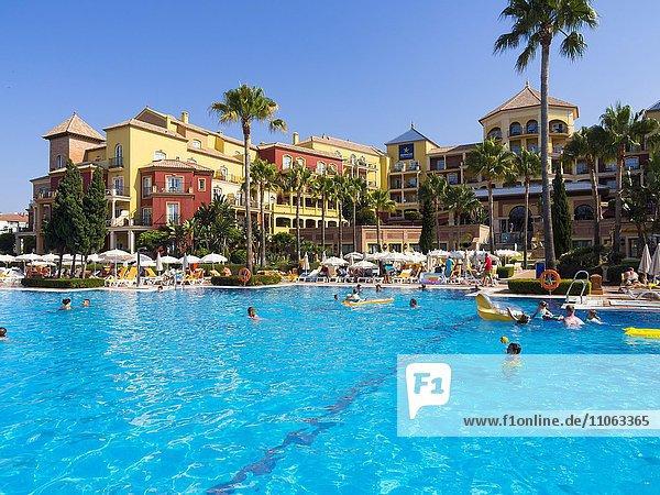Hotel Iberostar Málaga Playa mit Pool  Torrox  Provinz Málaga  Andalusien  Costa del Sol  Spanien  Europa