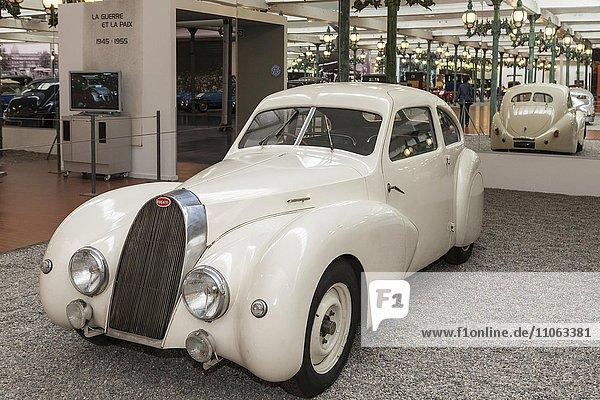 Bugatti Coach Type 73A  Baujahr 1947  Frankreich Kollektion Schlumpf  Musée National  Nationales Automobilmuseum  Mülhausen  Elsass  Frankreich  Europa