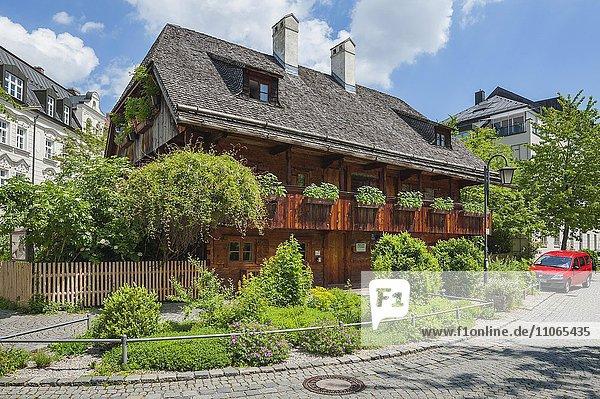 Kriechbaumhof  historische alte Herberge  Haidhausen  München  Bayern  Deutschland  Europa