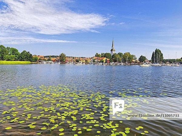Mariefred am Mälarsee  Strängnäs  Södermanlands Län  Nähe Stockholm  Schweden  Europa