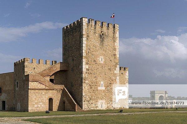 Festung Fortaleza Ozama  Santo Domingo  Dominikanische Republik  Nordamerika