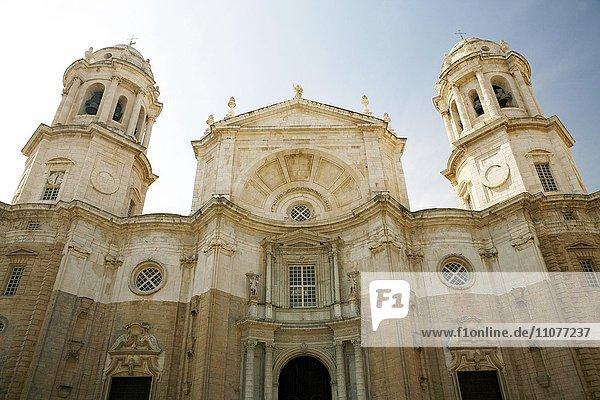 Catedral de Cádiz  Kathedrale von Cadiz  Provinz Cadiz  Andalusien  Spanien  Europa