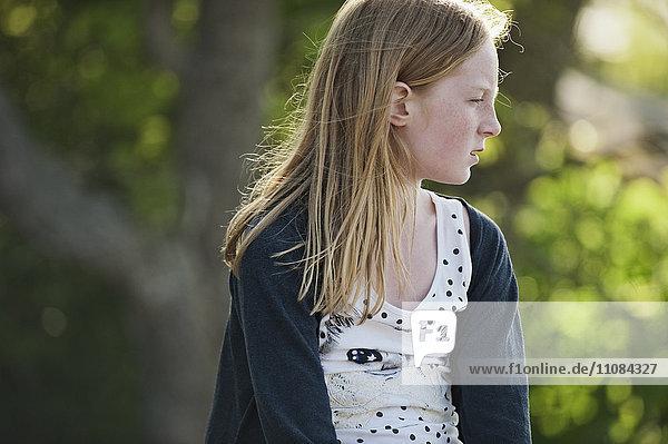 Girl looking away  Nacka  Sweden