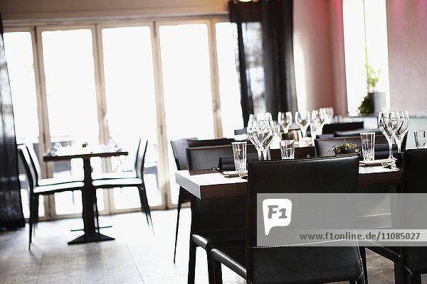Interior of a restaurant  Sweden.