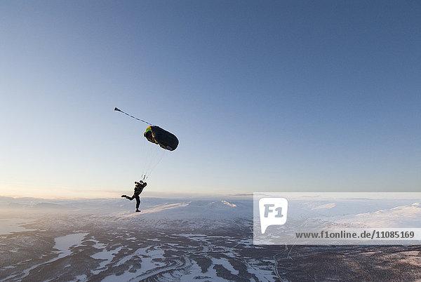 Skydiving  Sweden.