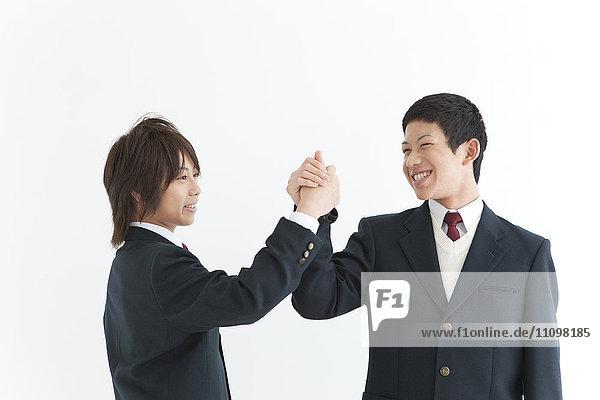 Two School Boys