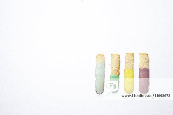 Cookies of test tubes