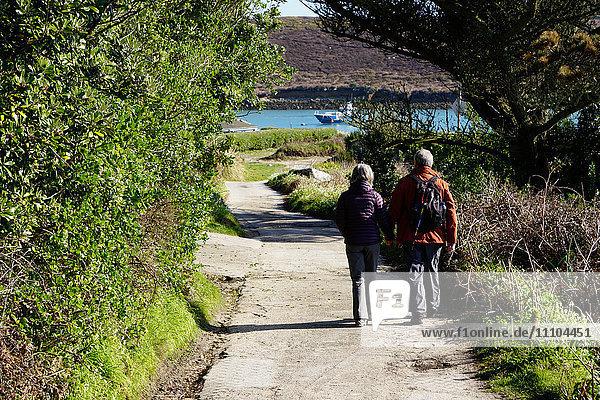 Bryher  Isles of Scilly  England  United Kingdom  Europe