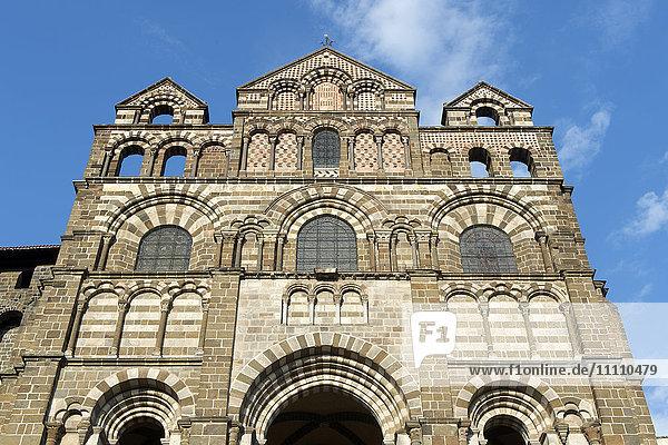Europe  France  Haute Loire  Le Puy en Velay  Notre Dame cathedral