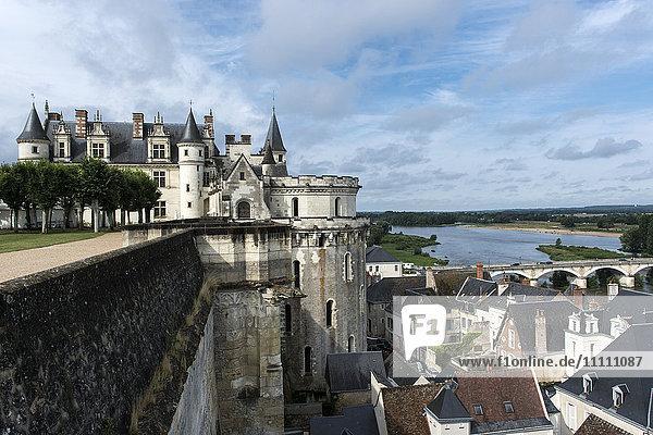 Europe  France  Indre et Loire  Amboise  Saint Hubert chappel
