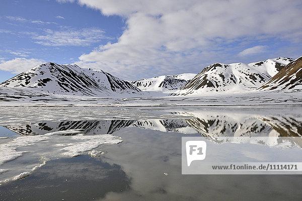 Norway  Svalbard islands  Spitsbergen island