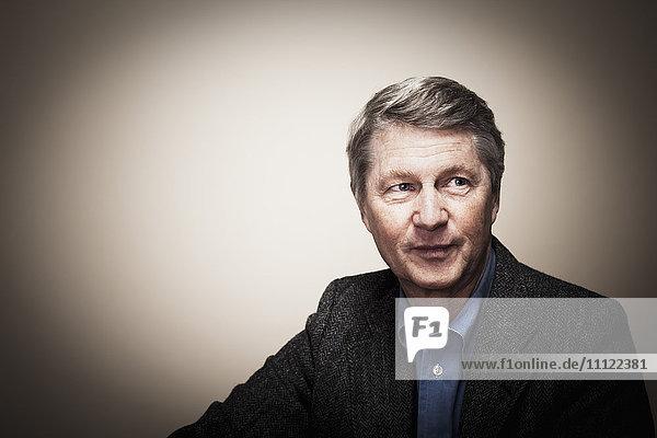 Smiling Caucasian businessman Smiling Caucasian businessman