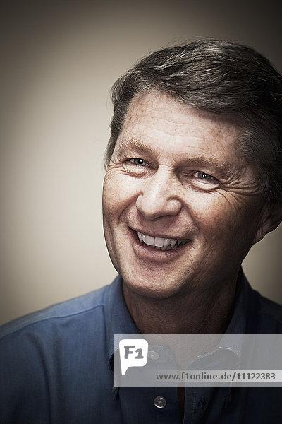 Smiling Caucasian man Smiling Caucasian man