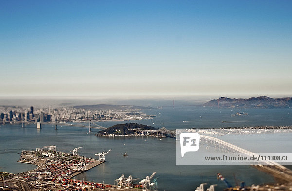San Francisco Bay and Downtown
