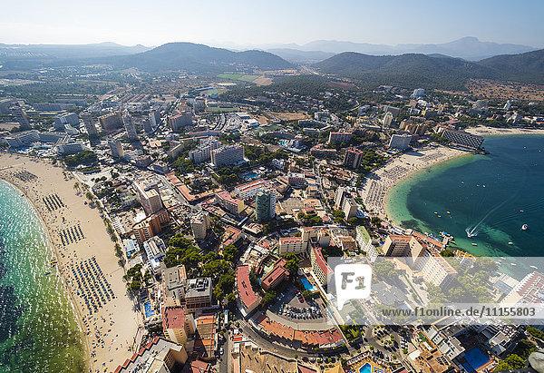 Spanien  Balearen  Mallorca  Palmanova und Torrenova  Strände und Hotels