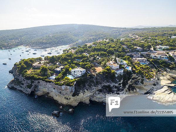 Spanien  Balearische Inseln  Mallorca  El Toro  Villen bei Portals Vells