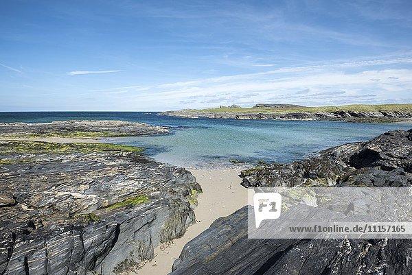 Vereinigtes Königreich  Schottland  Innere Hebriden  Isle of Islay  Saligo Bay  Strand