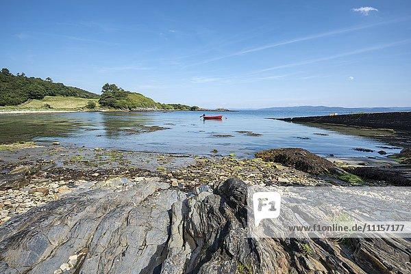 Großbritannien  Schottland  Innere Hebriden  Isle of Jura  Bucht bei Ardlussa