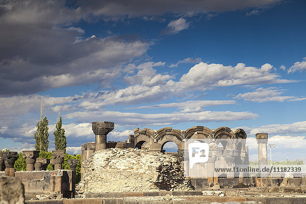 Armenia  Yerevan  Zvartnots Cathedral