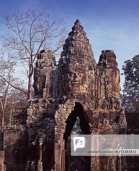 Angkor Thom  Angkor  Siem Reap Province  Cambodia