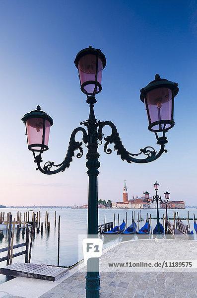 Italy  Veneto  Venice  San Giorgio Maggiore Church across Basino di San Marco