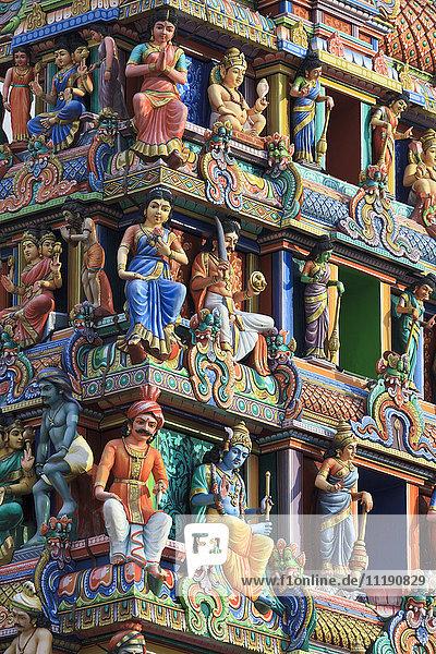 Singapore  Chinatown  Sri Mariamman Hindu Temple