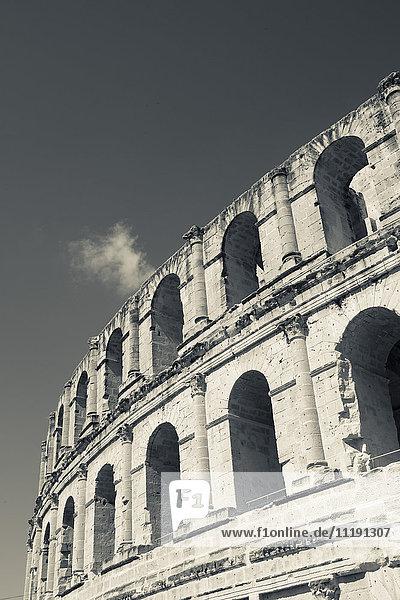 Tunisia  Tunisian Central Coast  El Jem  Roman Colosseum  b. 238 AD