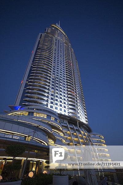 The Address Downtown hotel  Downtown  Dubai  United Arab Emirates