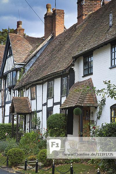 England  Warwickshire  Warwick  Tudor houses