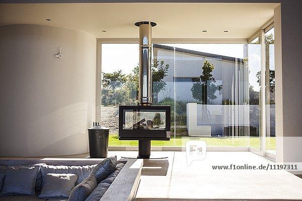 Interieur des modernen Wohnzimmers