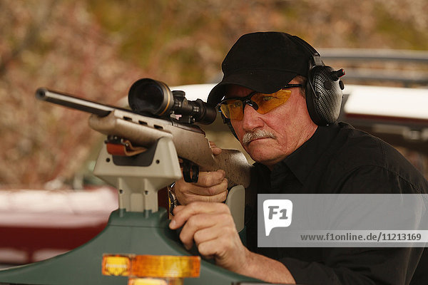 Rifle Range Shooting With Hearing Protection