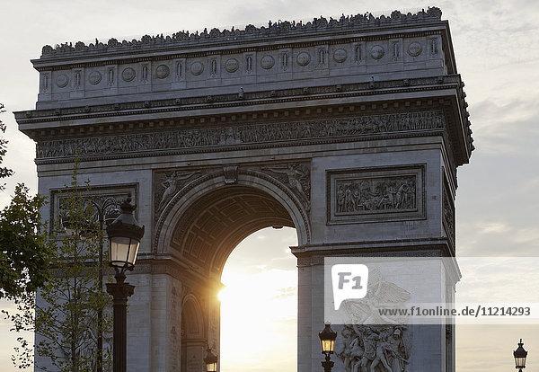'Arc de Triomphe; Paris  France'