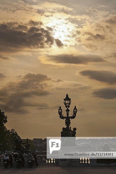 'Pont Alexandre III; Paris  France'