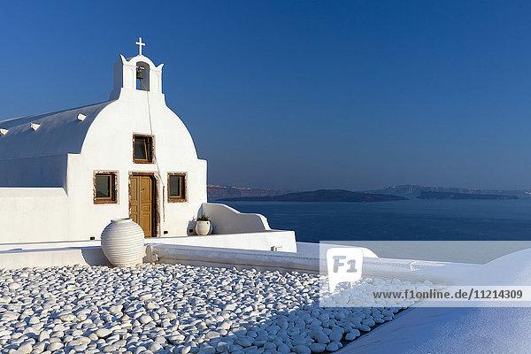 'Church; Fira  Santorini  Greece'