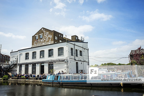 'The White Building  Hackney Wick; London  England'