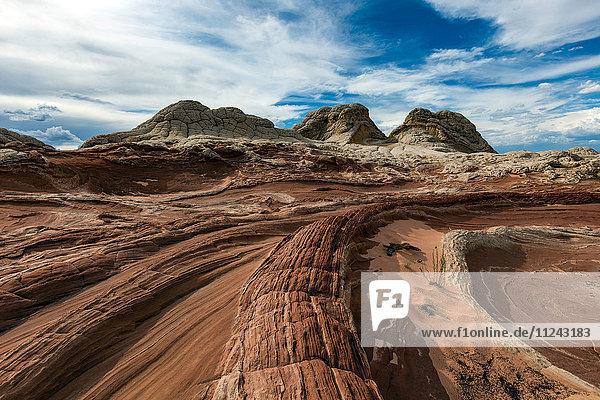 White Pocket  Paria Plateau  Arizona  USA
