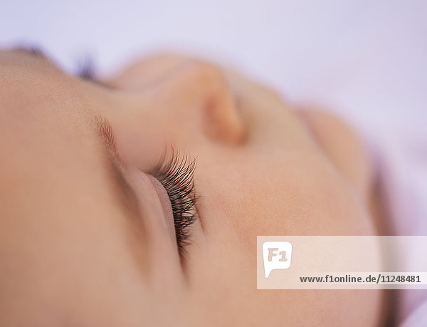 Close- up of baby boy (6-11 months)