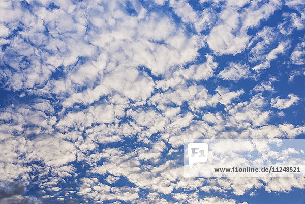 Soft white clouds on sky