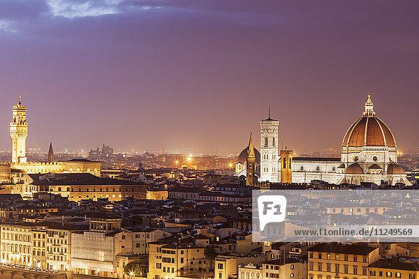 Duomo Santa Maria Del Fiore and Palazzo Vecchio