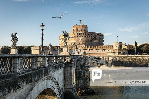 Rome  Lazio  Italy Mausoleum of Hadrian Castel Sant'Angelo