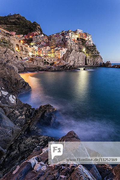 Village of Manarola  Cinque Terre  Riviera di Levante  Liguria  Italy