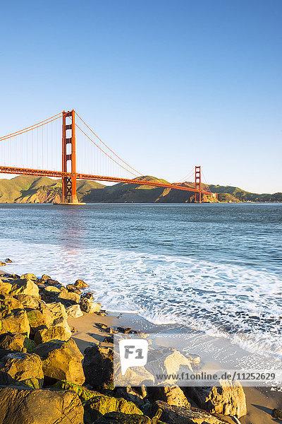 Vereinigte Staaten von Amerika USA Amerika fahren Nordamerika Ansicht Kalifornien Golden Gate Bridge San Francisco