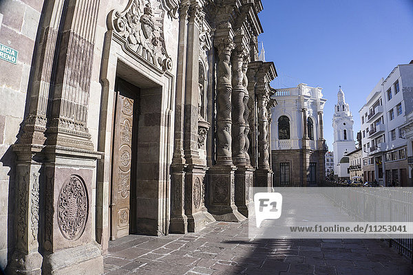 Iglesia de la Compania de Jesus  UNESCO World Heritage Site  Quito  Ecuador  South America