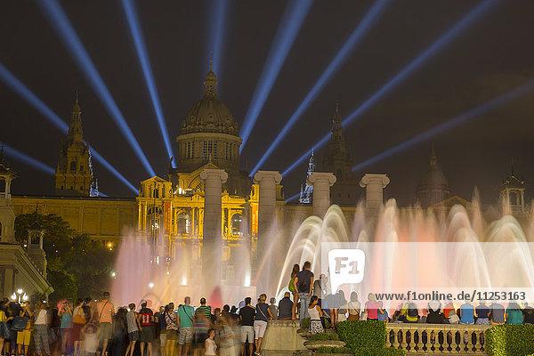 The National Art Museum of Catalonia  Barcelona  Catalonia  Spain  Europe